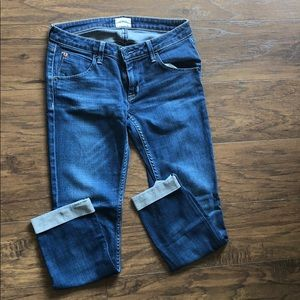 Hudson cropped jeans size 25